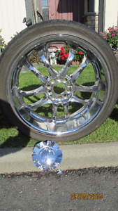 20in MSR Chrome Allow Rims