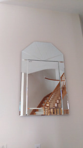 Large 47-inch Mirror for Home Foyer