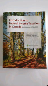 Introduction to Federal Income Taxation in Canada 35th Edition