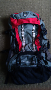 One Polar 80l hiking backpack - like new condition