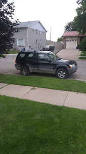 2001 ford escape 5 speed