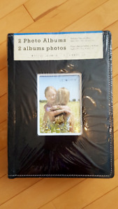 REDUCED! Photo Albums:  New Unopened 2-Pack, Black