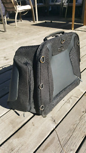 Motorcycle rear saddle bag