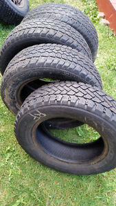 4 x Studded P185/65R14 Winter Tires