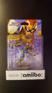 Amiibo  Captain Falcon First Print Neuf.