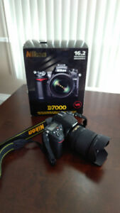 Nikon D7000 DSLR Kit + 18-105mm Lens (Perf Condition)