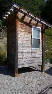 toilette extérieur pour chalet ou toilette sèche