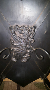Coat of Arms, Shield, Crossed Swords, Lion