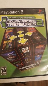 PS2 PlayStation 2 - Midway Arcade Treasures 2 - Complete