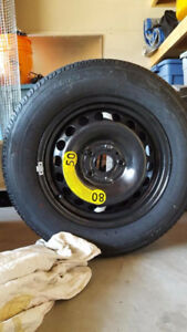 Brand New Full Size VW Spare Tire 195/65 R15 with Change Kit