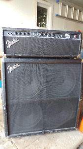 Fender FM100 Half Stack Guitar Amp (Cab + Head)