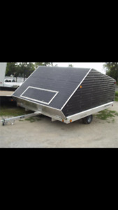 Wanted enclosed snowmobile trailer