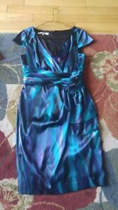 Lovely Blue Dress fits size 10 REDUCED