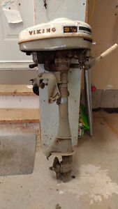 Used Viking 3 1/2 hp outboard motor