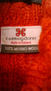 100% merino wool ladies sweater