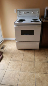 Electric stove available