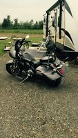 2014 Vstar 1300 deluxe with 5 year warranty bumper to bumper