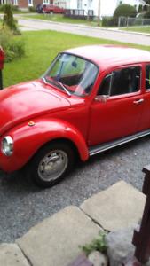 1973 Volkswagen super beetle 'Eva'
