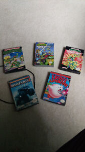 Nintendo nes games in boxes