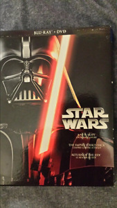 Star Wars Original trilogy DVD and Blu-ray