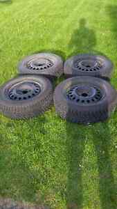 Selling set of 4 camaro snow tires from 2010 camaro