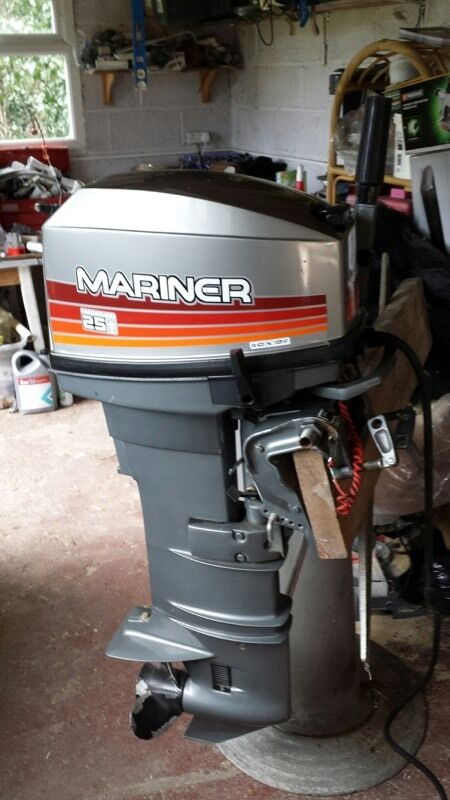 mariner marathon 25hp outboard
