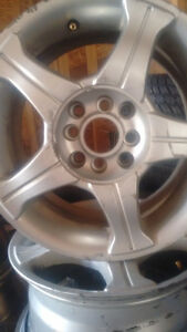 4 rims multi fittings size 14 inches