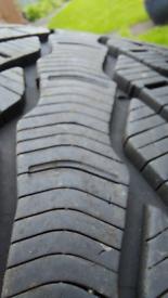 4 Winter Tyers on Wheels