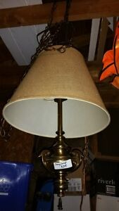 Swag lamp and 12' chain
