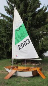 Scamp sailing/rowing dingy