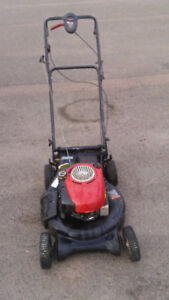 CALLS ONLY !Gas power push mower with ez walk