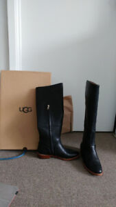 Ugg gracen whipstitch boots- black