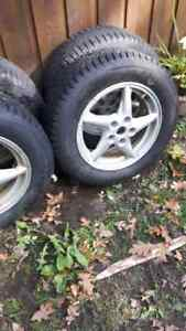 Gm winter tires and rims