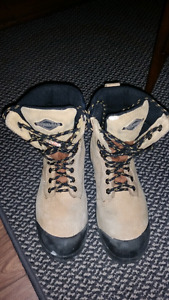 Size 7 Steel Toe Work Boots