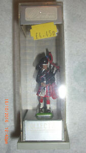Collectible Hand Painted Metal British Regiment Soldier