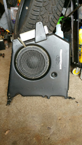 Ford focus svt factory sub and amp