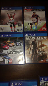 PS4 Games All for 60$