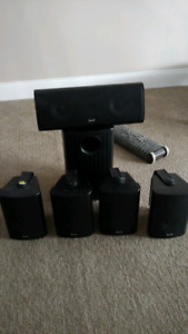 *Quest 5.1 Speaker Set Incl Powered Sub Woofer*