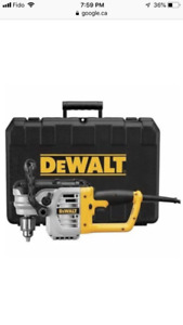 Perceuse à angle droit / Stud and Joist drill DWD460K (Neuf/New)