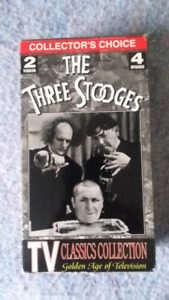 The Three Stooges VHS