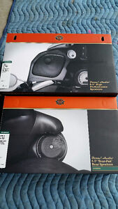 Harley Speakers Front and Rear