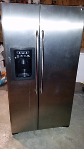 Stainless Steel Fridge/Freezer
