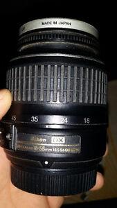Nikon D40 Digital SLR Camera with 70-300mm & 18-55mm lens