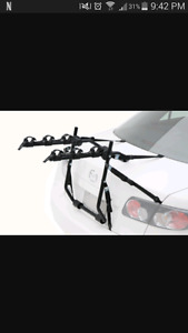 bike and bike rack for car
