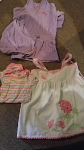 3-6 mth girl misc clothing items