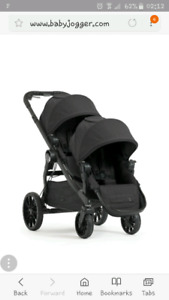Iso city select double stroller