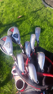 Callaway RAZR X HL full iron and hybrid set W/ bag