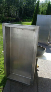 4ft Stainless Steel Insert Cold Table- Electric