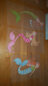 Collection of Pottery Barn Mermaid Decor