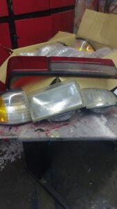 Mustang fox de 1988@1993 kit de lumière avant est arrière usagé